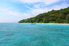 Privé eiland Royalty-vrije Stock Afbeeldingen