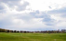 Privé golfgebied royalty-vrije stock foto's