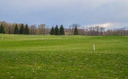 Privé golfgebied royalty-vrije stock foto