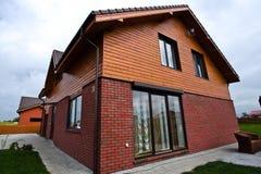 Privé huis in de voorsteden Stock Foto