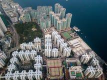 Privé huisvesting van Hong Kong royalty-vrije stock fotografie