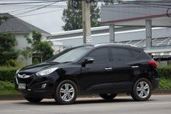 Privé Hyundai Tucson De Sexy SUV-auto van Korea Stock Foto's