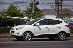 Privé Hyundai Tucson De Sexy SUV-auto van Korea royalty-vrije stock afbeelding