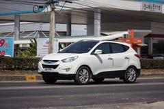 Privé Hyundai Tucson De Sexy SUV-auto van Korea stock afbeeldingen