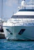 Privé jacht Stock Foto