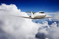 Privé jet Royalty-vrije Stock Afbeelding