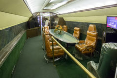 Privé Jet Dining Room van Elvis Presley stock fotografie