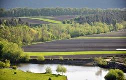 Privé land voor agricultural_4 Royalty-vrije Stock Foto