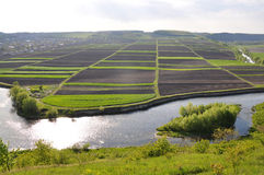 Privé land voor agricultural_5 Royalty-vrije Stock Afbeeldingen