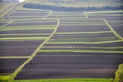 Privé land voor agricultural_6 Stock Afbeeldingen