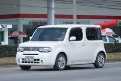 Privé Nissan Cube Royalty-vrije Stock Fotografie
