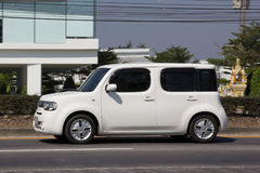 Privé Nissan Cube Mini-bestelwagen Royalty-vrije Stock Afbeelding