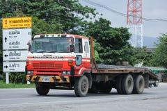 Privé Oud Nissan Diesel Truck Royalty-vrije Stock Foto's