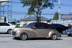 Privé oude Auto Stock Foto's