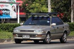 Privé Oude auto, Toyota Corolla stock foto