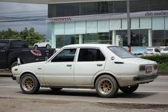 Privé Oude auto, Toyota Corolla royalty-vrije stock foto