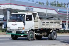 Privé Oude Hino-Stortplaatsvrachtwagen Royalty-vrije Stock Foto