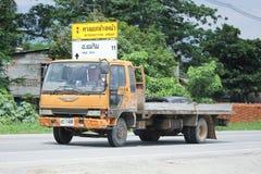 Privé Oude Hino-Vrachtwagen Stock Afbeelding