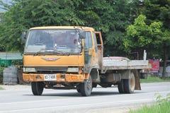 Privé Oude Hino-Vrachtwagen Royalty-vrije Stock Fotografie