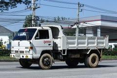 Privé Oude Isuzu Dump Truck Royalty-vrije Stock Foto