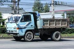Privé Oude Isuzu Dump Truck Royalty-vrije Stock Fotografie