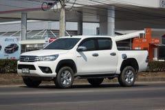 Privé Pick-upauto Toyota Hilux Revo Royalty-vrije Stock Afbeelding