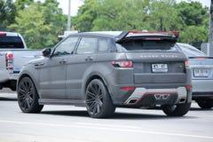 Privé Range Rover-auto Royalty-vrije Stock Foto's