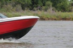 Privé roeien binnen in de Nassau Baai en Kemah Texas stock fotografie