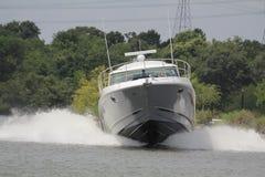 Privé roeien binnen in de Nassau Baai en Kemah Texas royalty-vrije stock foto's