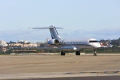 Privé straallijnvliegtuig op tarmac royalty-vrije stock fotografie
