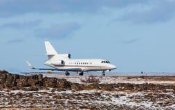 Privé straalvliegtuigen royalty-vrije stock fotografie