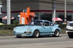 Privé Super auto, Oud Porsche 911 Royalty-vrije Stock Afbeeldingen