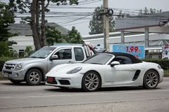 Privé Super auto, Porsche Stock Fotografie