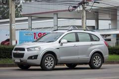 Privé SUV-auto, Chevrolet-captiva Royalty-vrije Stock Afbeelding