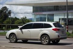 Privé Suv-auto, Subaru-Binnenland Stock Afbeelding