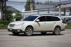 Privé Suv-auto, Subaru-Binnenland Royalty-vrije Stock Fotografie