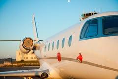Privé vliegtuig Stock Foto's