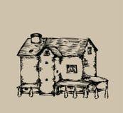 Privé woonplaats Royalty-vrije Stock Afbeelding