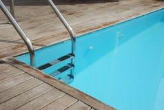 Privé zwembad Stock Afbeeldingen