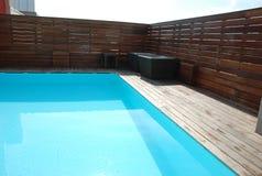 Privé zwembad Stock Foto's