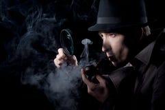 Privé-detective Stock Afbeelding