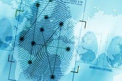 Privacidad y seguridad globales stock de ilustración