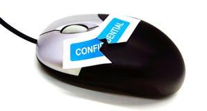 Privacidade do Internet Imagem de Stock