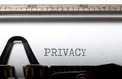 Privacy royalty-vrije stock afbeelding