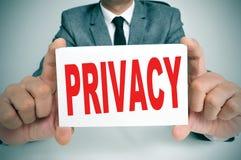 privacy stock fotografie