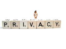 Privacy royalty-vrije stock foto's