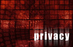 Privacy Royalty Free Stock Photo
