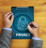 Privacy Access login PERFORMANCE Identification Password Passcod Royalty Free Stock Image
