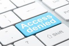 Privacy concept: Access Denied on computer Royalty Free Stock Images