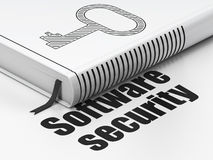 Privacy concept: book Key, Software Security on Royalty Free Stock Image